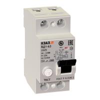 ВД1-63 Устройства защитного отключения (УЗО) на токи до 100А