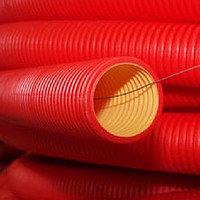 Двустенные электротехнические трубы для открытой прокладки