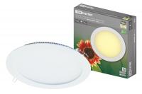 Светильники LED ультратонкие даунлайты КРУГ СВО TDM