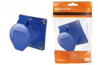 Розетки стационарные для скрытой установки - CEE 4XX