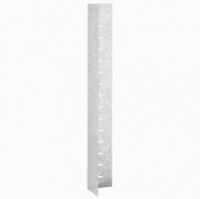 Вертикальная перегородка - XL³ 4000 - вид 2b - для отгораживания проходящих сзади сборных шин - глубина 725 мм