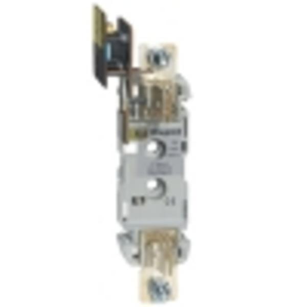 Цоколь для плавких предохранителей - размер 0 - 160 - 1P с микро выключателем