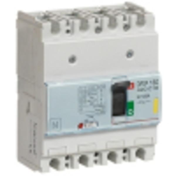 Автоматический выключатель DPX<sup>3</sup> 160 - термомагнитный расцепитель - 16кА - 400 В~ - 4P - 125 А
