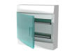 Бокс настенный Mistral41 36М зеленая дверь(без клемм)2ряда