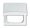 Плата промежуточная с крышкой для центральных плат серий Busch-Duro 2000 SI и Reflex SI, IP44, серия Allwetter 44, цвет слоновая кость