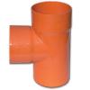 Тройник для двустенных труб,90 ,полипропилен,д.200