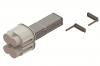 Питающий элемент + заглушка, тип 1, Al, 4P, 25A