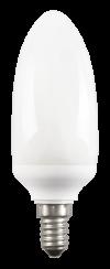 Лампа энергосберегающая свеча КЭЛ-C Е14 11Вт 2700К ИЭК