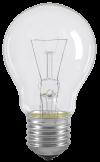 Лампа накаливания A55 шар прозр. 60Вт E27 IEK