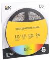 Лента LED 5м  блистер  LSR-5050RGB60-14,4-IP65-12V IEK