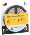 Лента LED 5м  блистер  LSR-5050W30-7,2-IP20-12V IEK