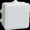 Коробка КМ41255 распаячная для о/п 100х100х50 мм IP44 (RAL7035, 6 гермовводов, защелкивающаяся крышк