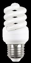 Лампа энергосберегающая спираль КЭЛ-FS Е27 9Вт 2700К Т2 ИЭК