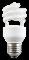 Лампа энергосберегающая спираль КЭЛ-S Е27 45Вт 4000К Т4 ИЭК