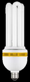 Лампа энергосберегающая КЭЛ-4U Е27 55Вт 6500К ИЭК