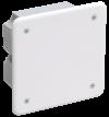 Коробка КМ41021 распаячная 92х92x45мм для полых стен (с саморезами, металл  лапки, с крышкой )