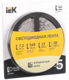 Лента LED 5м  блистер  LSR-5050WW30-7,2-IP20-12V IEK
