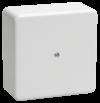 Коробка КМ41222 распаячная для о/п 100х100х44 мм белая (6 клемм 6мм2)