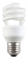 Лампа энергосберегающая спираль КЭЛ-S Е27 11Вт 4000К Т2 ИЭК