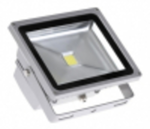 Светодиодный прожектор PFL-50W/CW/GR «JazzWay»