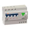 Автоматический выключатель дифференциального тока АВДТ с защитой от сверхтоков OptiDin VD63-43C63-A-УХЛ4 (4P, C63, 100mA)