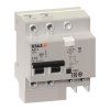 Автоматический выключатель дифференциального тока АВДТ с защитой от сверхтоков АД12-24C63-АC-УХЛ4-КЭАЗ (2P, C63, 300mA)