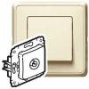 Cariva коробка для накладного монтажа 36 мм сл.к.