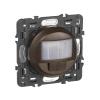 Celiane - датчик движения двухпроводный 250 Вт без нейтрали с функцией ручного управления,  - графит