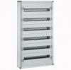 Распределительный шкаф с металлическим корпусом XL³ 160 - для модульного оборудования - 6 реек - 1050x575x147