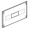 Металлическая лицевая панель XL³ 800/4000 - для 2 DPX-IS 250 - высота 300 мм - 24 модуля