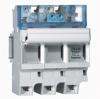 Выключатель-разъединитель SP 51 - 3П - 4,5 модуля - для промышленных предохранителей 14х51 - с микровыключателем