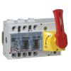 Выключатель-разъединитель Vistop - 125 A - 3П - рукоятка спереди - красная рукоятка / желтая панель