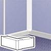 Угол внутренний/внешний переменный - для мини-плинтуса DLPlus 40x12,5 - белый