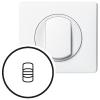 Лицевая панель - Программа Celiane - рычажковые выключатели/переключатели Кат. № 0 670 09 - белый