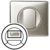 Лицевая панель - Программа Celiane - датчик движения со световым указателем Кат. № 0 670 93 - титан