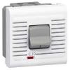 Автоматический выключатель - Программа Mosaic - термомагнитный, П + Н, 230 В~ - 10 A - 2 модуля - белый