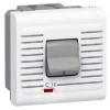 Автоматический выключатель - Программа Mosaic - термомагнитный, П + Н, 230 В~ - 16 A - 2 модуля - белый