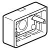 Накладная монтажная коробка - Программа Mosaic - для суппорта Кат. № 0 802 59 - глубина 40 мм - 3 модуля