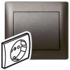 Лицевая панель - Galea Life - для розетки 2К+З - Dark Bronze