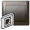 Лицевая панель - Galea Life - для блока аварийного освещения - Dark Bronze