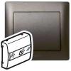 Лицевая панель - Galea Life - для выключателя с ключом-картой - Dark Bronze