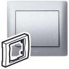 Лицевая панель - Galea Life - для блока аварийного освещения - Aluminium