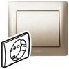Лицевая панель - Galea Life - для розетки 2К+З - Titanium