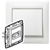 Розетка HD 15 для видеоустройств - Valena - слоновая кость