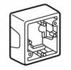 Накладная коробка - Valena - 1 пост - слоновая кость