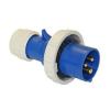 0132-6 Вилка кабельная 16A 2P+E