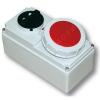 61132-6 Розетка с блокировкой и выключателем накладная 16A 2P+E