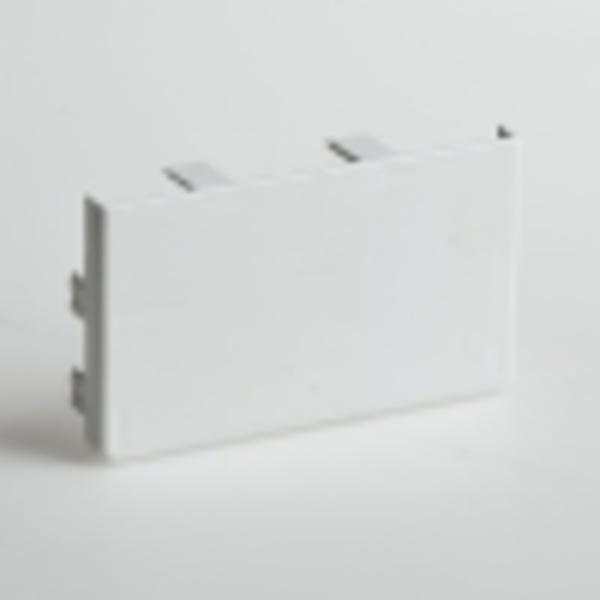 Заглушка для РКК-100х60 и 100х40 (белая)