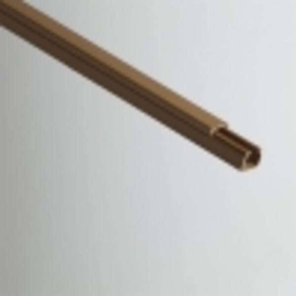 Кабель-канал РУВИНИЛ 16х16х2000мм (коричневый)