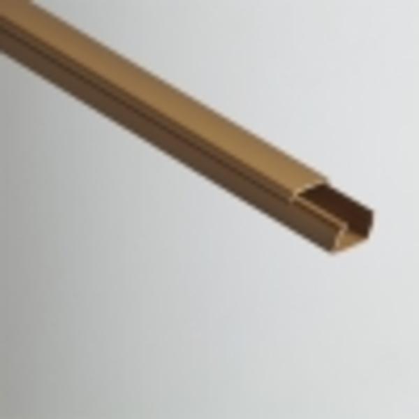 Кабель-канал РУВИНИЛ 25х16х2000мм (коричневый)